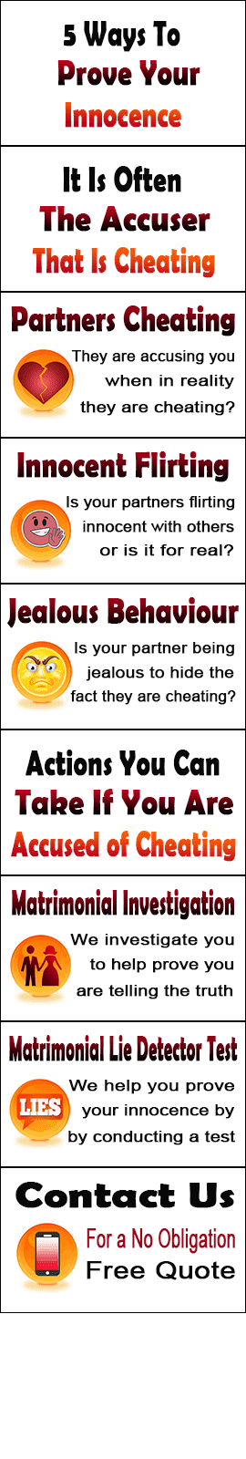 5 Ways To Show Your Innocence In Ipswich When Accused Of Cheating